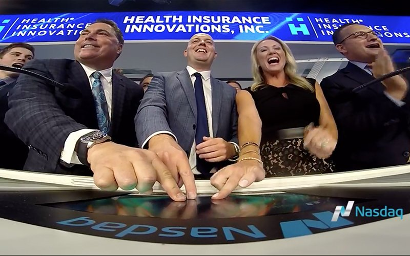 Health-Insurance-Innovations-NASDAQ-closing-bell-ceremony